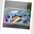 activities for kids with chalk