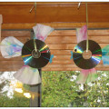 what to do with old CDs, CD suncatchers