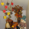 fall crafts, fall activities, thankful tree