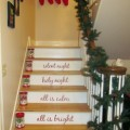decorating for Christmas, Christmas decor, Christmas decorations, how to decorate my staircase for Christmas