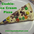 tasty treats, ice cream pizza