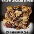 Chocolate blondies
