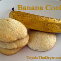 banana recipe, banana cookies