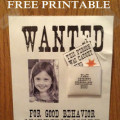 caught you being good, free printable
