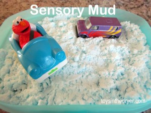 sensory mud, sensory sand