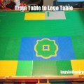 Legos, Lego table, recycle a train table