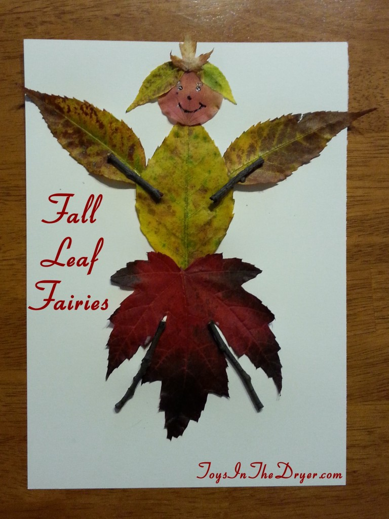fall leaf fairies