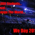 Free The Children, We Act, We Day