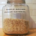 oatmeal recipe, maple brown sugar recipe